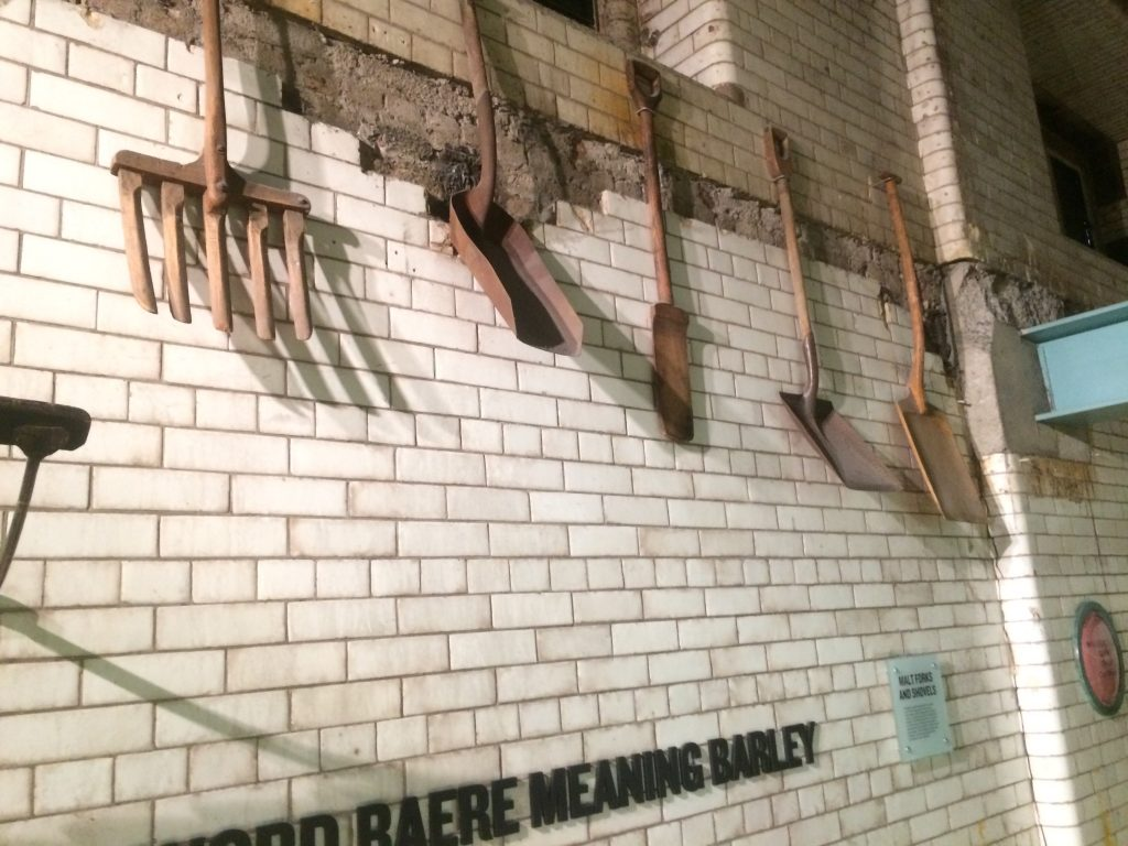 The Guinness Storehouse: barley implements